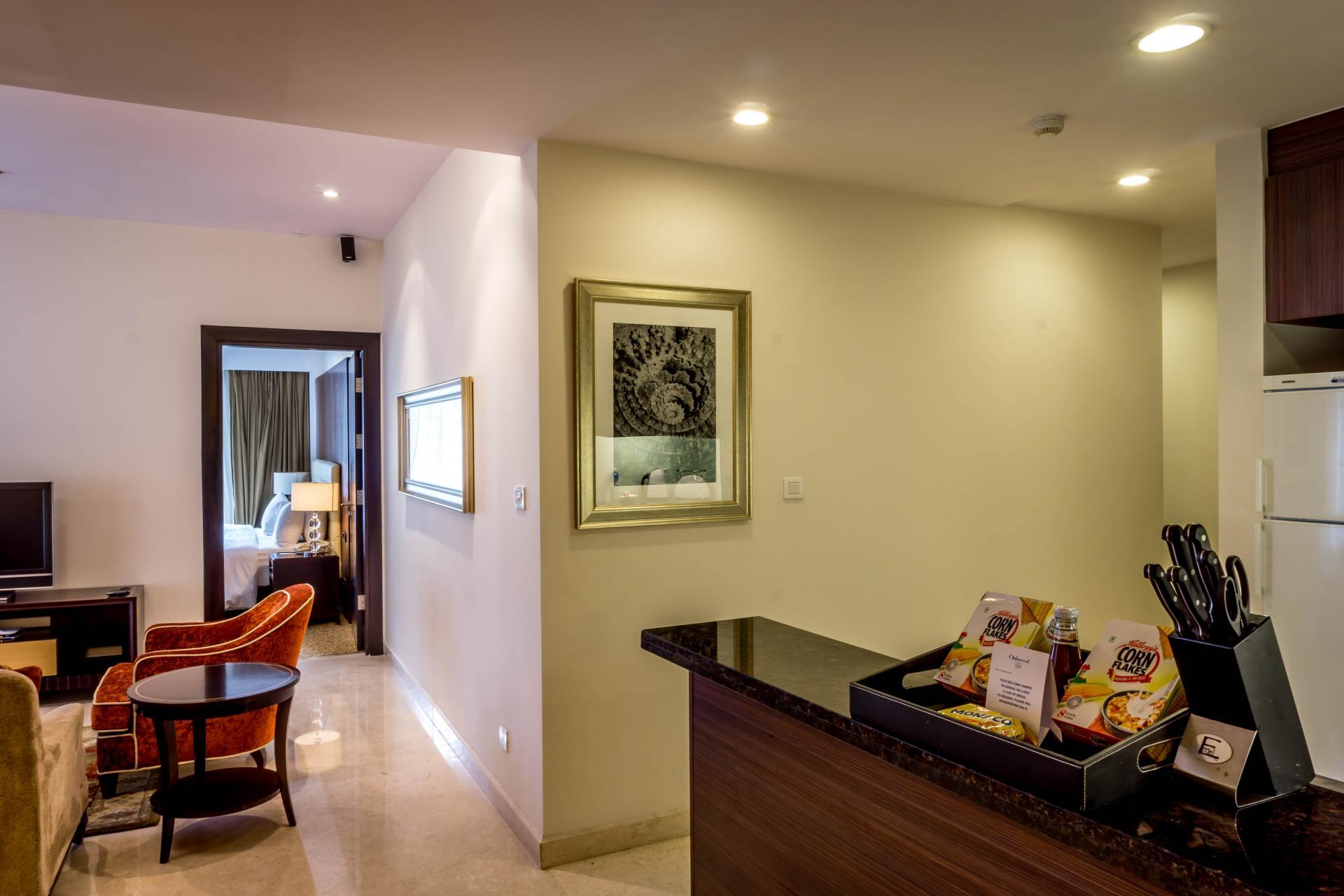 Open-plan at Oakwood Premier Prestige Bangalore, Centre, Bangalore