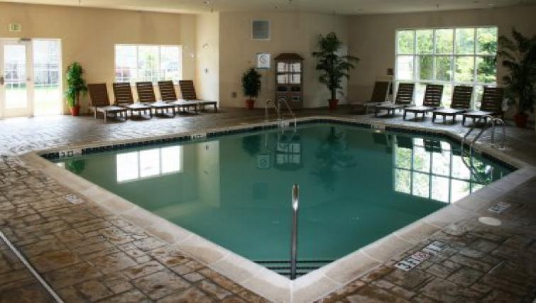Modern pool in Staybridge Suites Philadelphia Mt Laurel