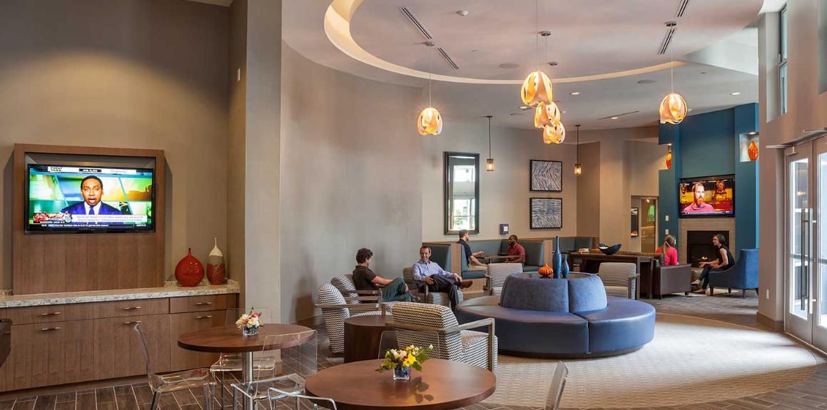 Lobby at Radius at the Banks, Central Business District, Cincinnati