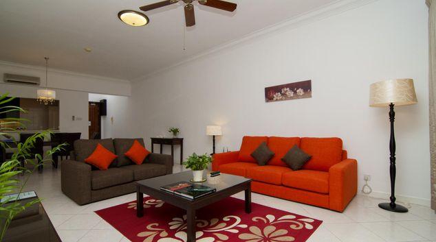 Sofa at Wedgewood Residences, Mont Kiara, Kuala Lumpur