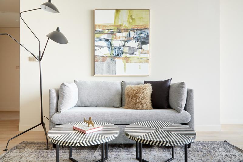 Sofa at JBR Suites, Dubai Marina, Dubai