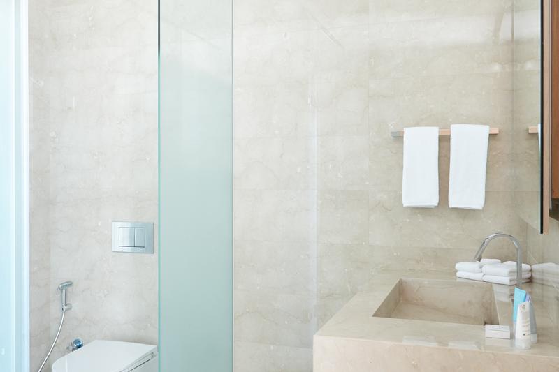 Shower at JBR Suites, Dubai Marina, Dubai