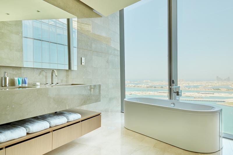 Bathroom at JBR Suites, Dubai Marina, Dubai