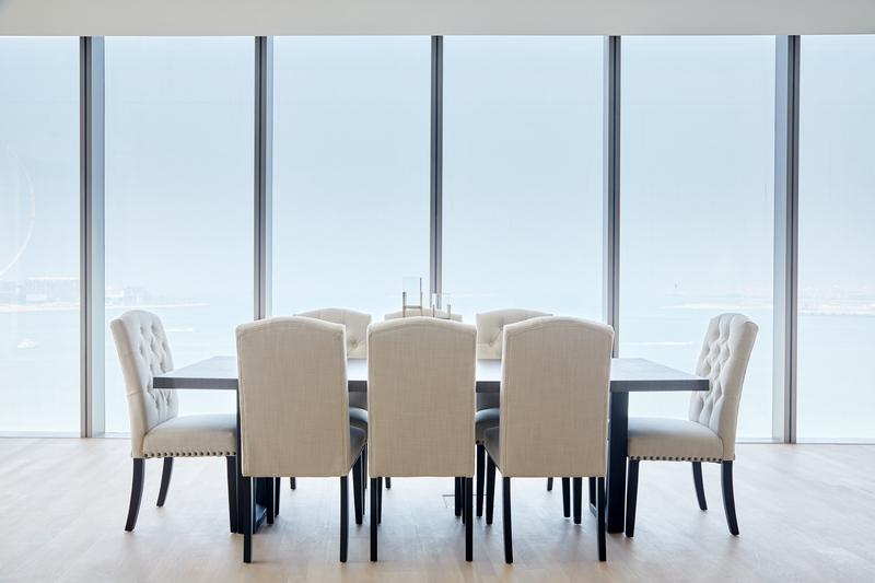 Dining table at JBR Suites, Dubai Marina, Dubai