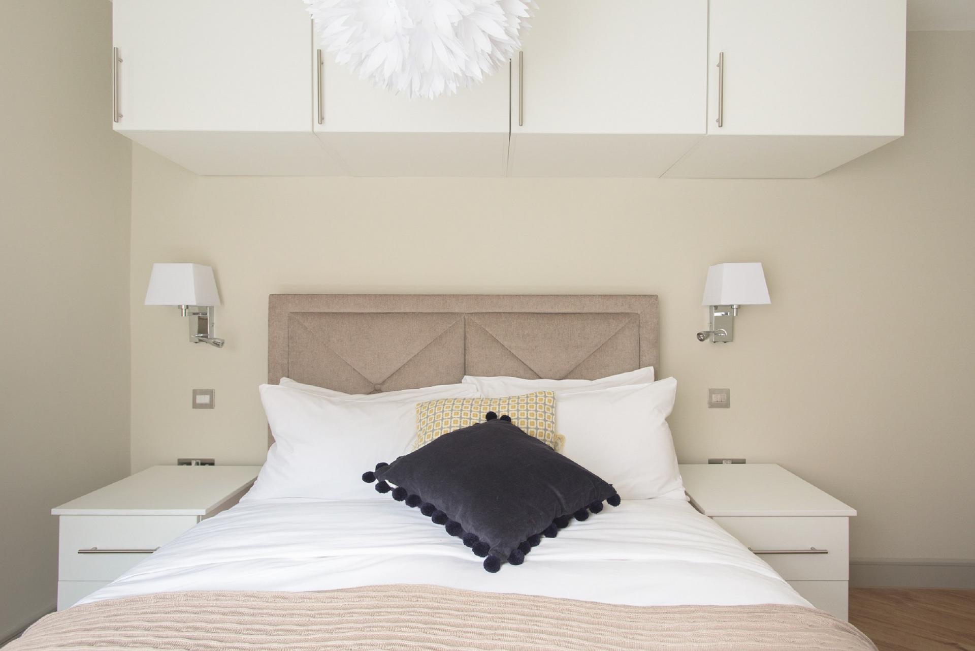 Bed at The New Bond Street Loft, Mayfair, London