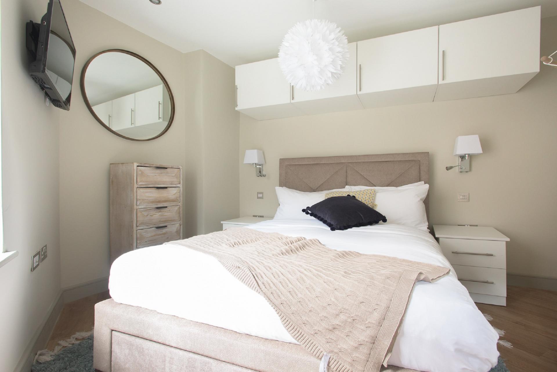 Bedroom at The New Bond Street Loft, Mayfair, London