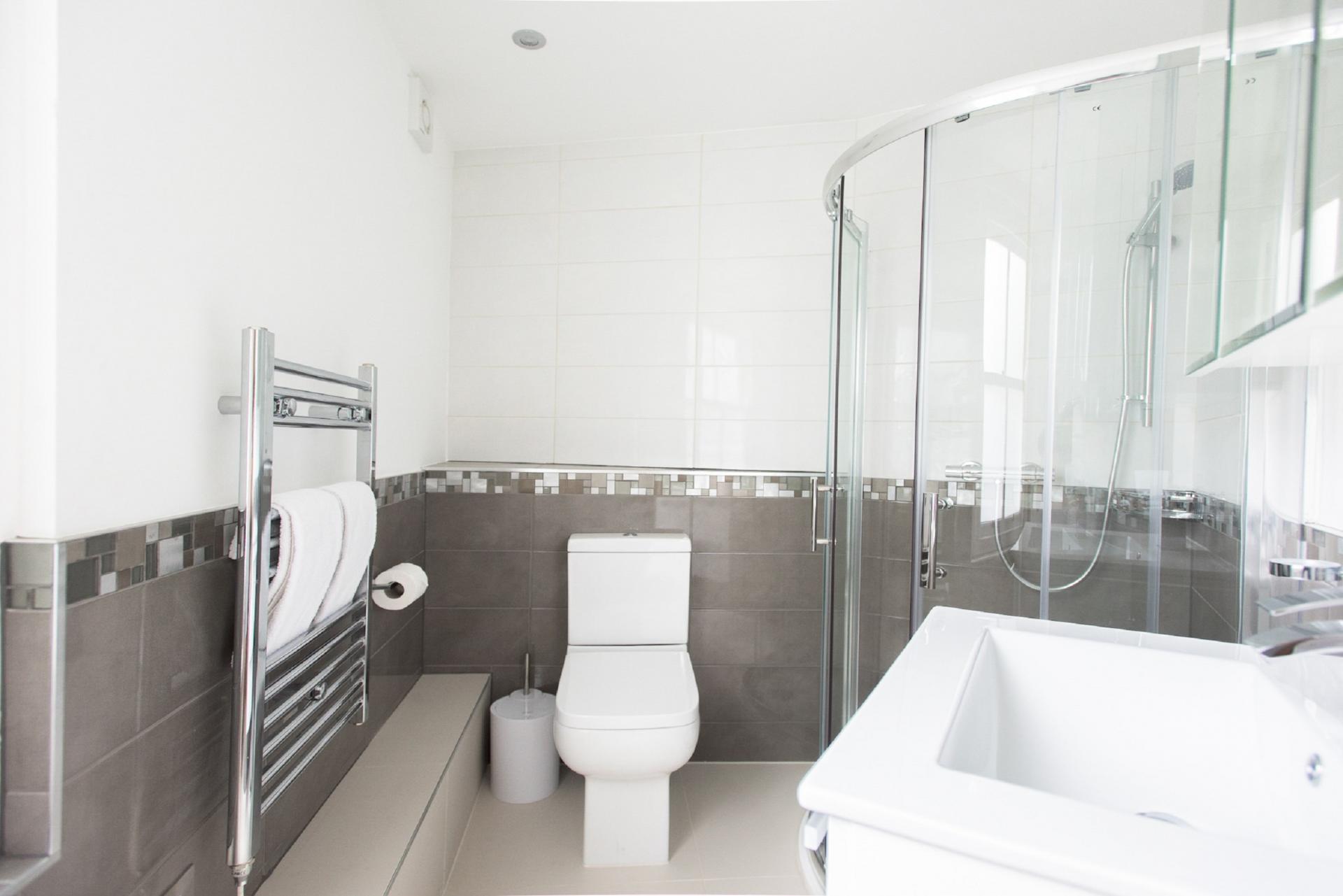 Bathroom at The New Bond Street Loft, Mayfair, London
