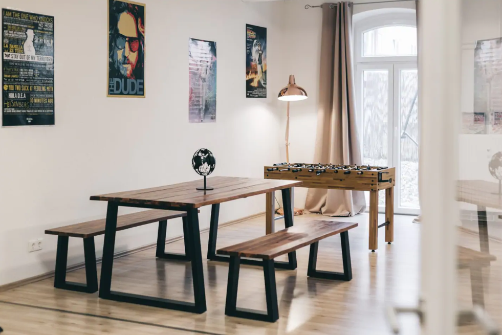 Dining area at Celina Apartment, Löbtau, Dresden