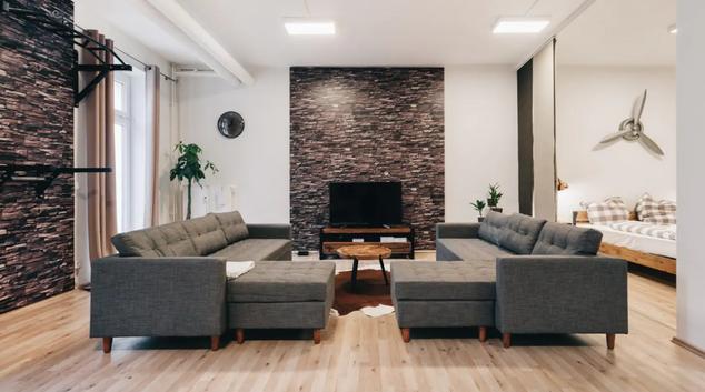 Living area at Celina Apartment, Löbtau, Dresden
