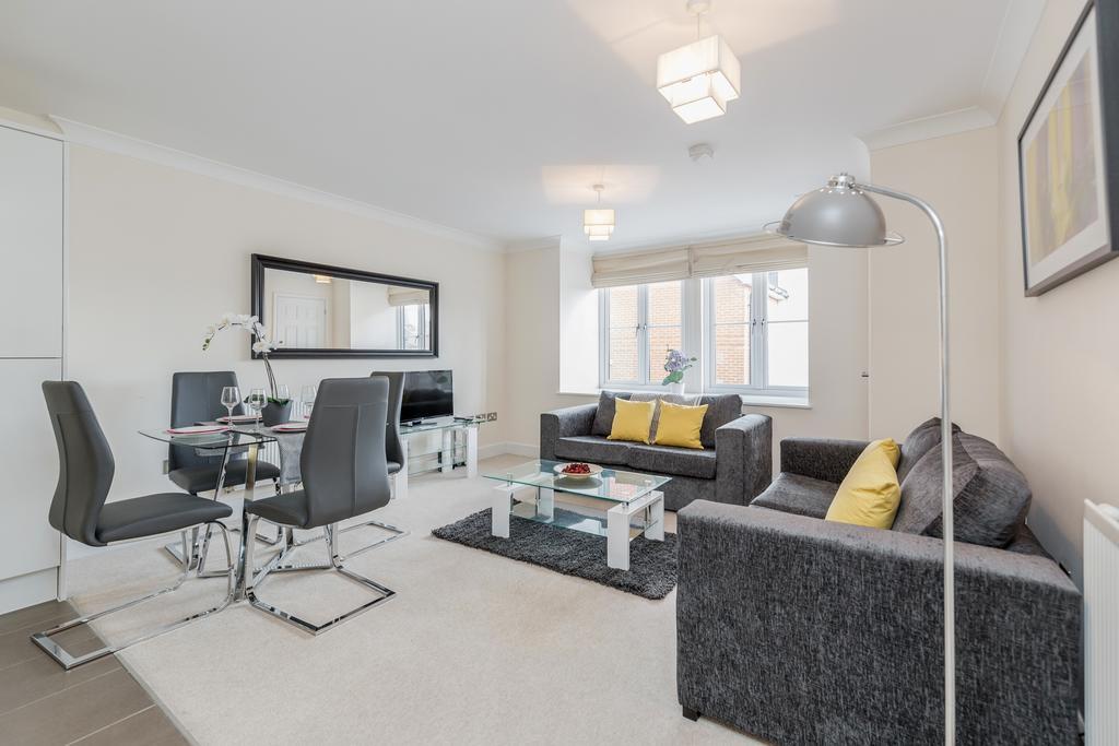 Lounge at Woodbridge Road Apartment, Centre, Guildford