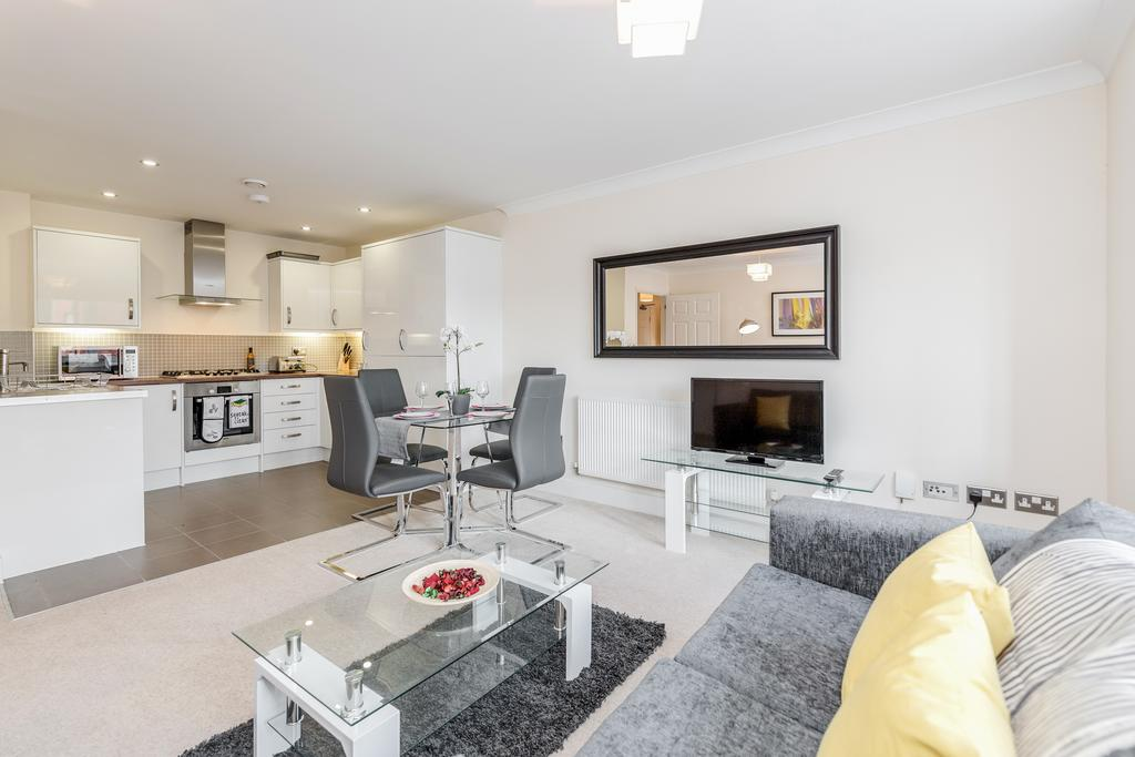 Open plan space at Woodbridge Road Apartment, Centre, Guildford