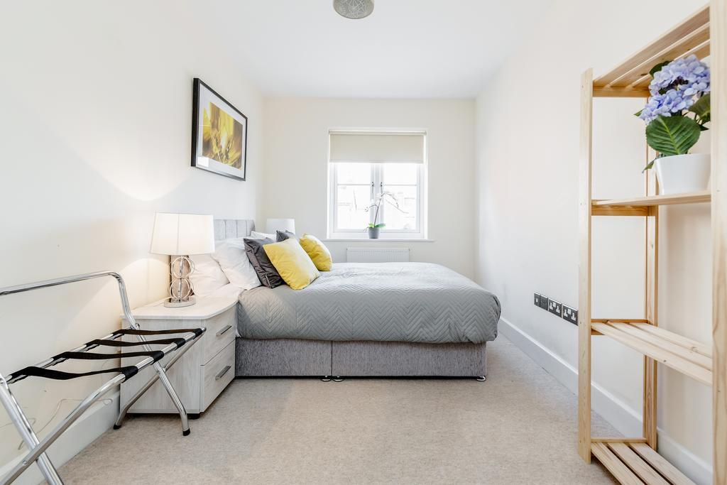 Bedroom at Woodbridge Road Apartment, Centre, Guildford