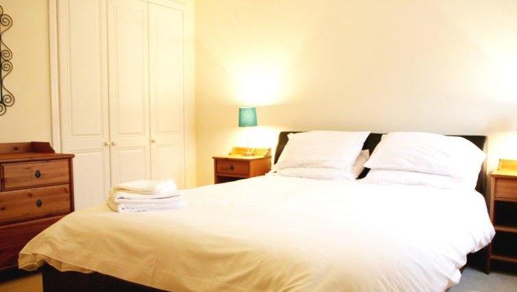 Bedroom in Brunel Crescent Apartments
