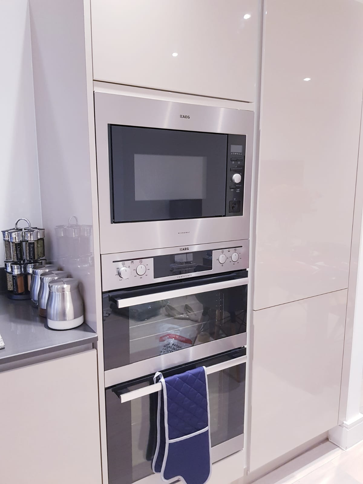 Oven at Noble House Apartment, Chiswick, London