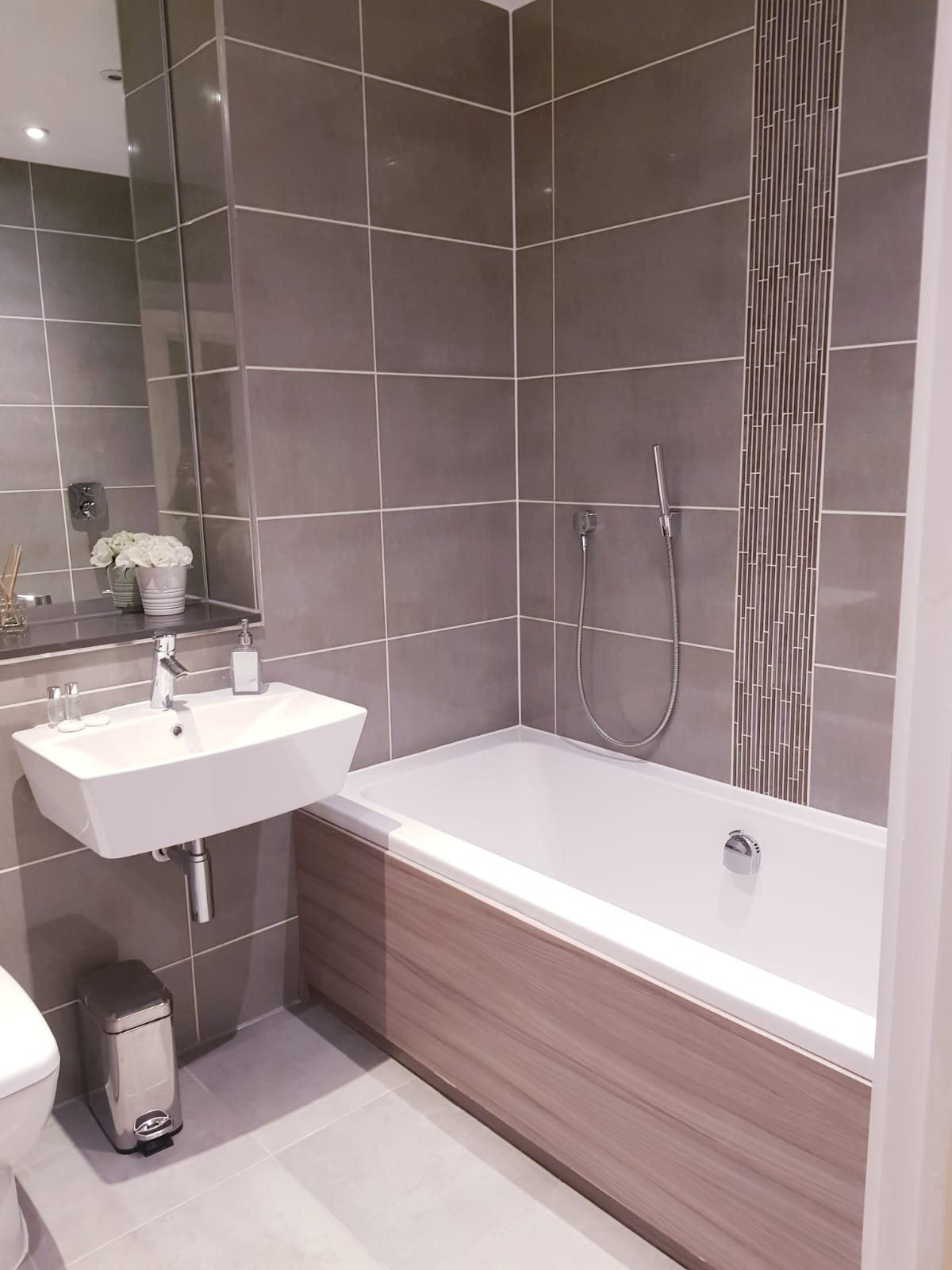 Bathroom at Noble House Apartment, Chiswick, London
