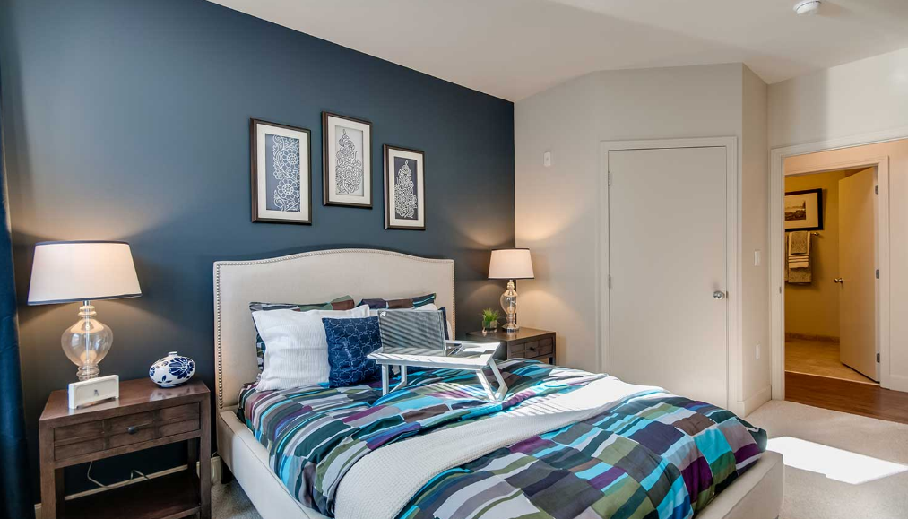 Bedroom at Current at the Banks, Central Business District, Cincinnati