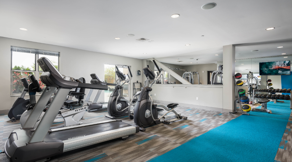 Gym at Current at the Banks, Central Business District, Cincinnati