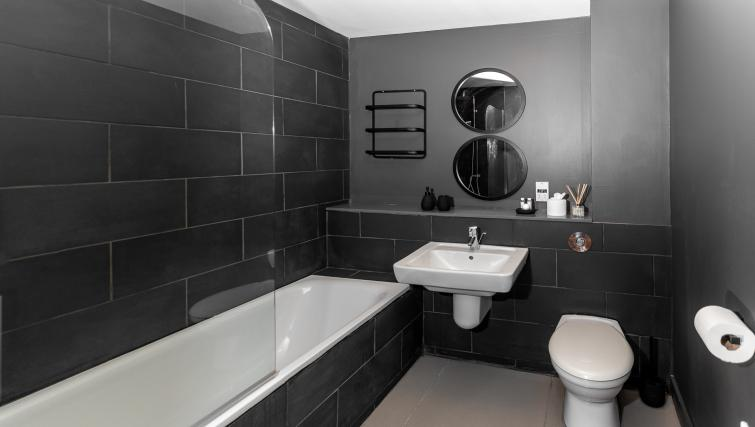 Bath at City Stay Apartments Hub
