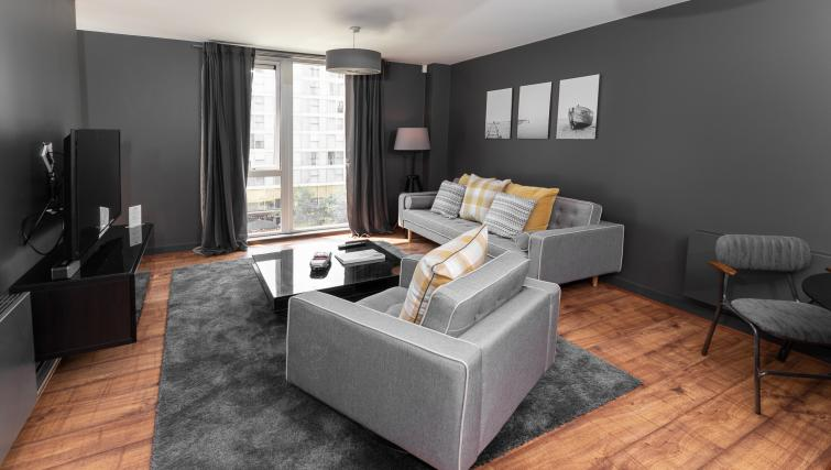 Lounge area at City Stay Apartments Hub