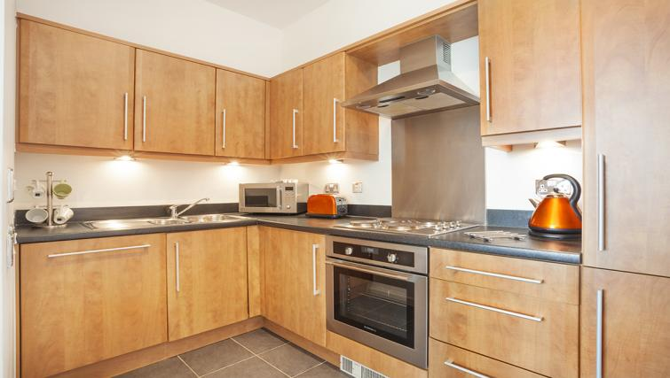 Kitchen at at City Stay Apartments Hub