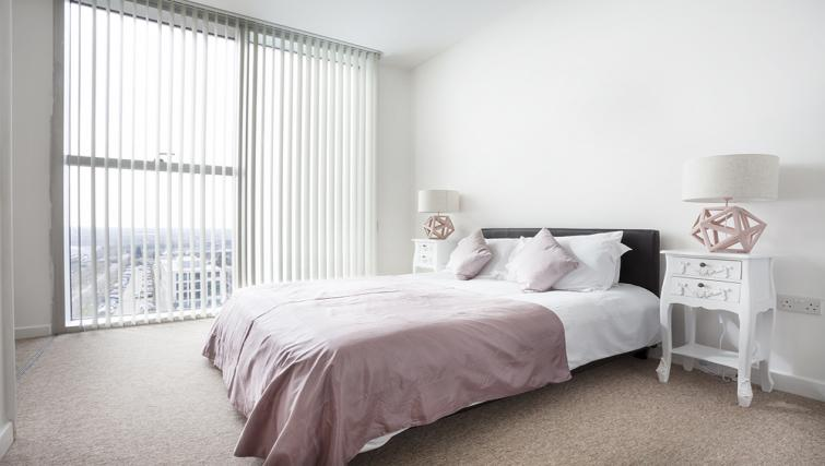 Bedroom at City Stay Apartments Hub
