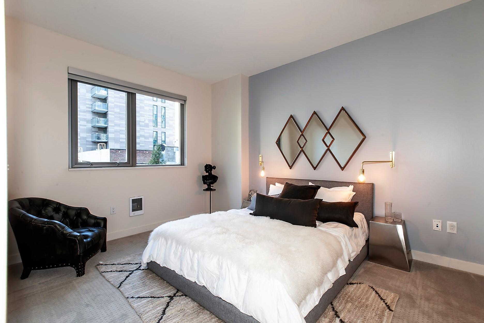 Bedroom at Argenta Apartment, Hayes Valley, San Francisco