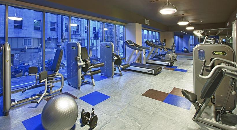 Gym at Argenta Apartment, Hayes Valley, San Francisco