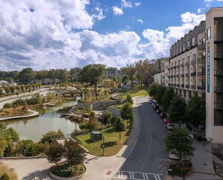View at 641 Amli Ponce Park Apartment, Old Fourth Ward, Atlanta