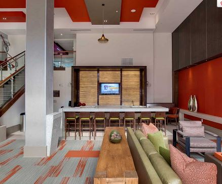 Room at 641 Amli Ponce Park Apartment, Old Fourth Ward, Atlanta
