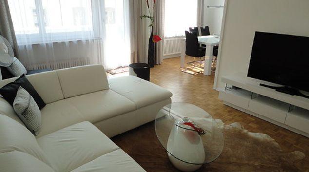 Living area at Gundeli Residence, Gundeldingen, Basel