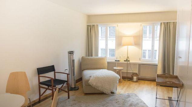 Lounge at Neugasse Apartment, Centre, Zug