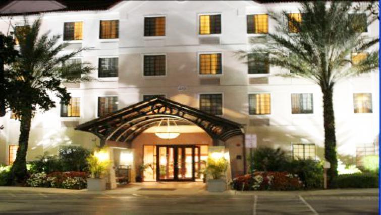 Gorgeous exterior of Staybridge Suites Fort Lauderdale/Plantation