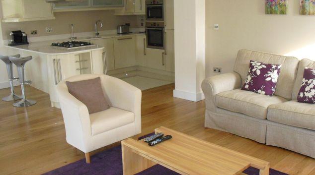Lounge at Little Acre Lane Apartment, Spital, Windsor