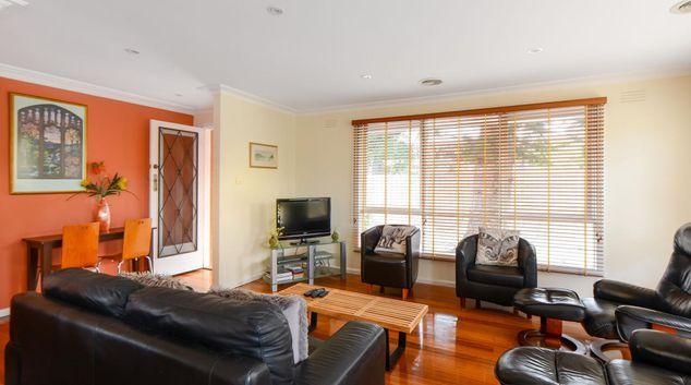 Living area at Sandy Haven Apartment, Sandringham, Melbourne