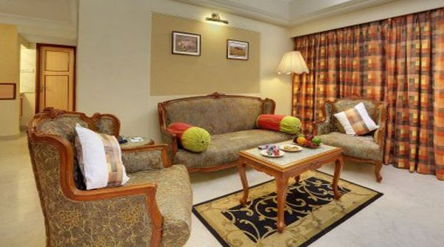 Bright living area in The Emerald - Hotel & Executive Apartments