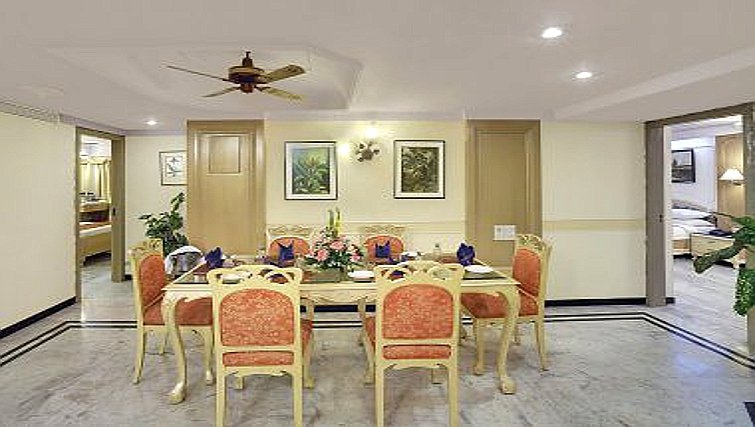 Traditional dining area in The Emerald - Hotel & Executive Apartments