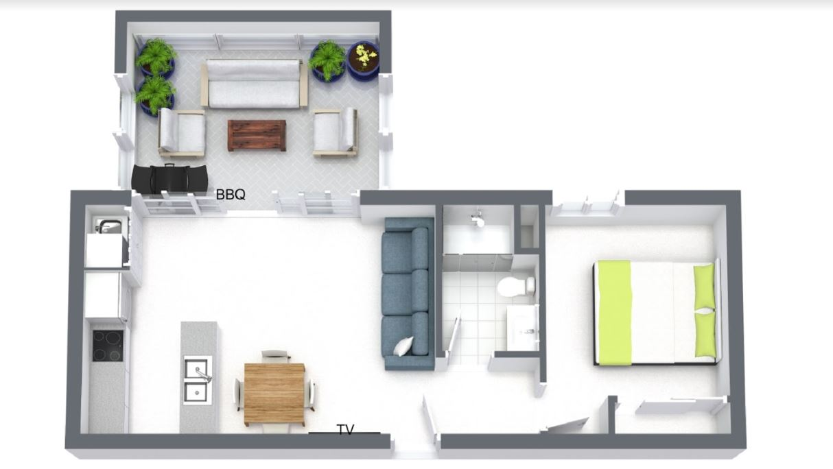 Floor plan of The Lincoln, South Yarra, Melbourne