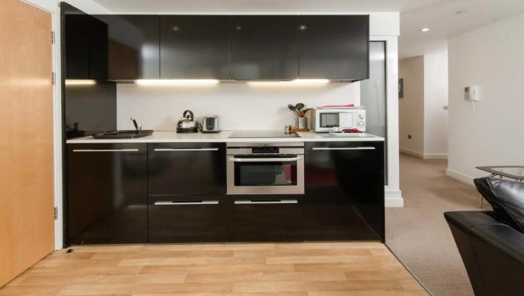 Stunning kitchen in Marsh House Apartments