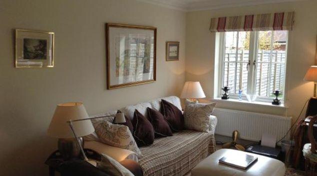 Lounge at Wealden Drive Apartment, Westhampnett, Chichester
