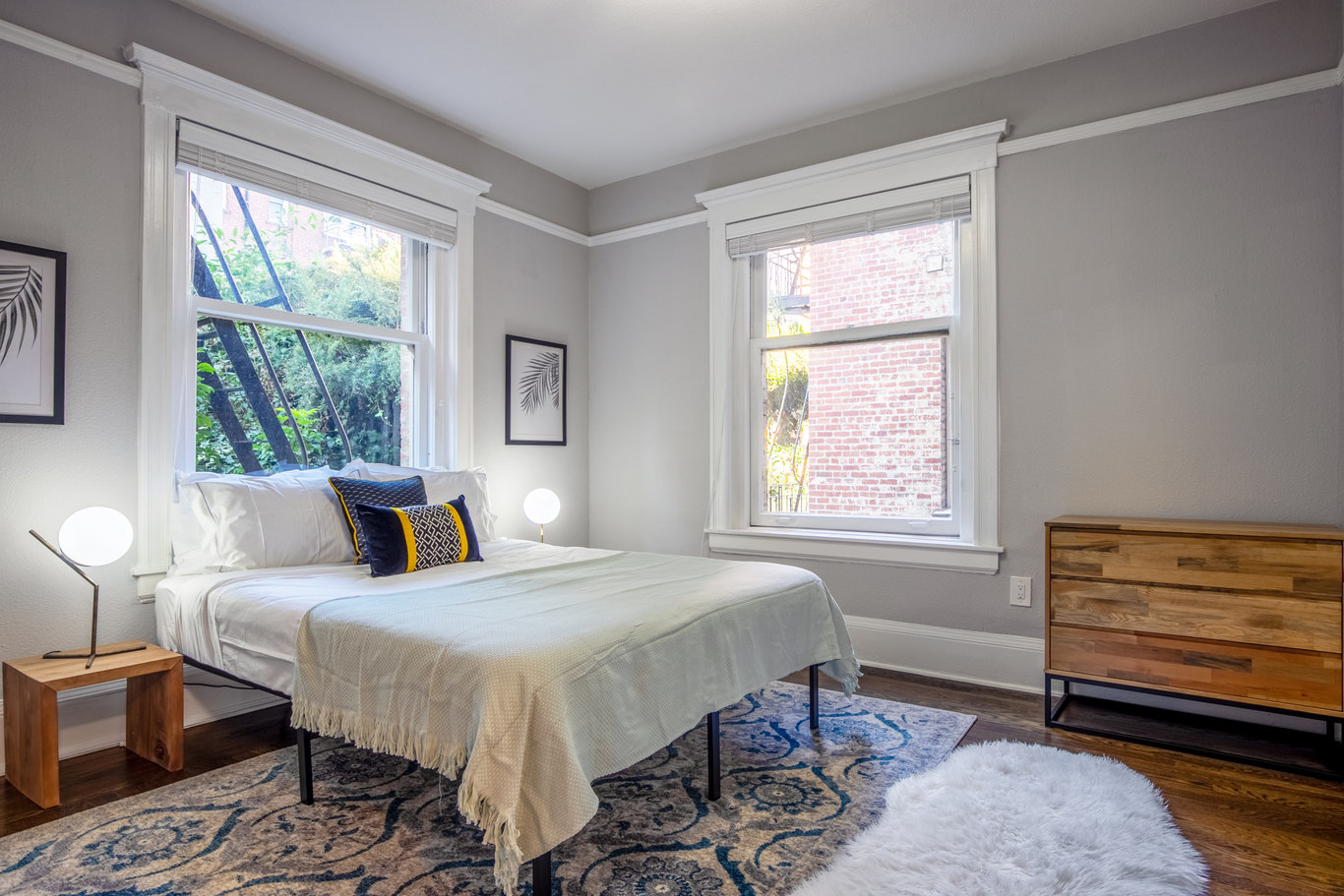 Bedroom at 952 Sutter Apartments