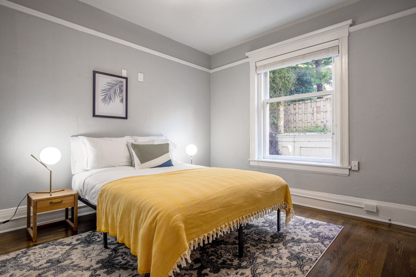 Second Bedroom at 952 Sutter Apartments