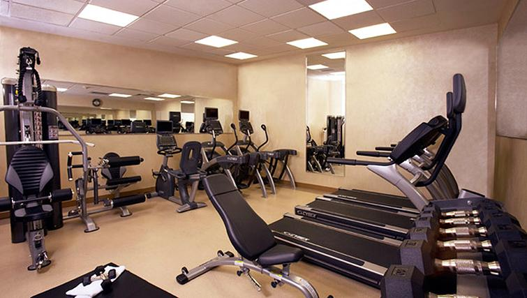 Gym at Staybridge Suites New York Times Square
