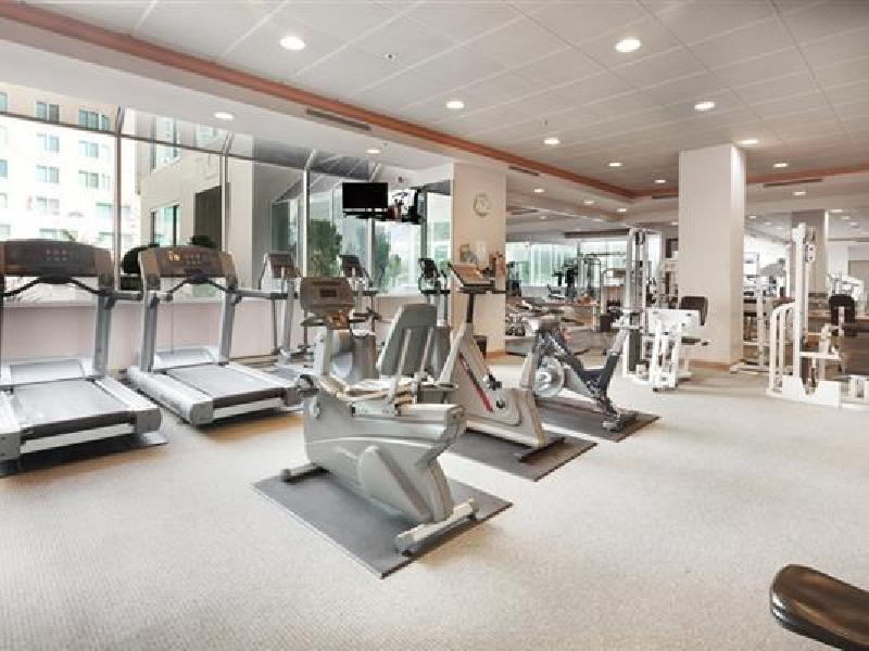 Gym at Parc Telegraph Corporate Housing, North Beach, San Francisco