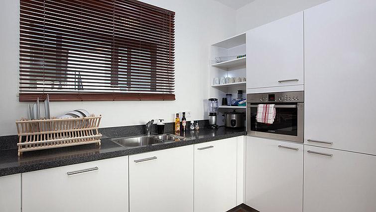 Kitchen in World Fashion Apartments - Amsterdam