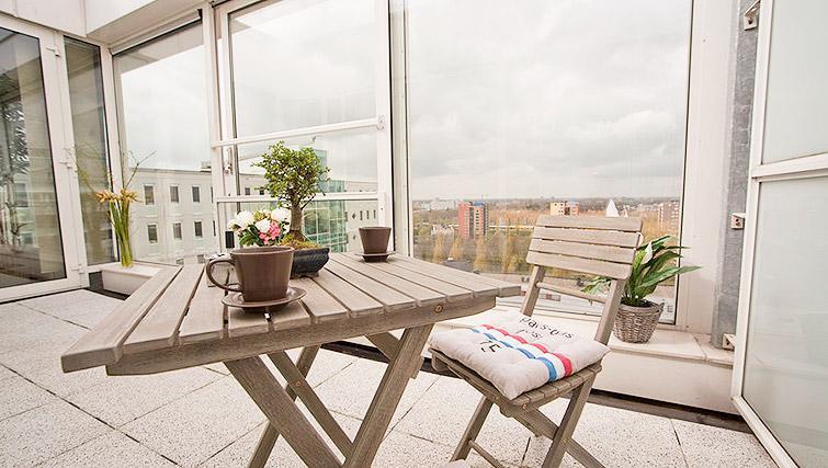 Balcony at World Fashion Apartments - Amsterdam