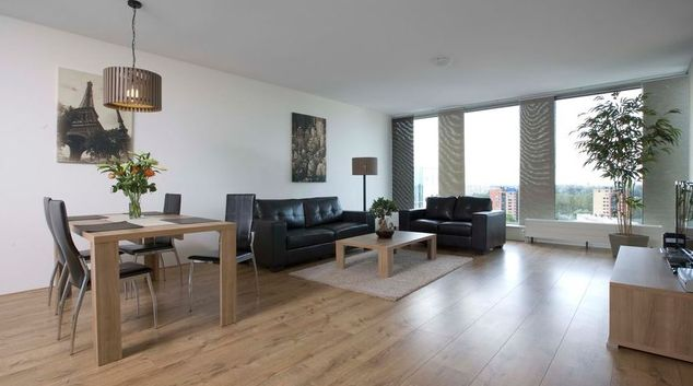 Open living area at World Fashion Apartments - Amsterdam