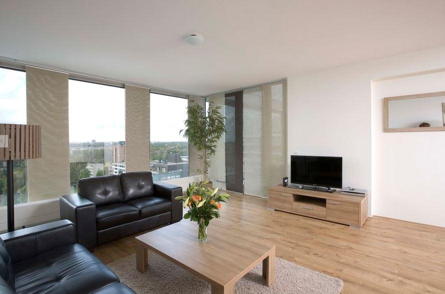 Lounge at World Fashion Apartments - Amsterdam