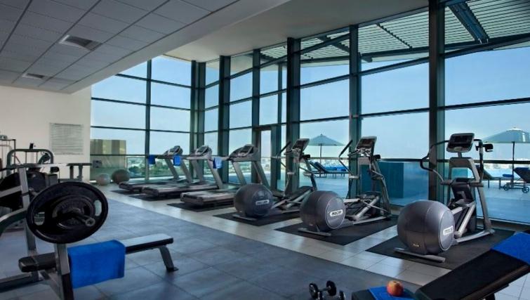 Executive gym in Ascott Park Place Apartments