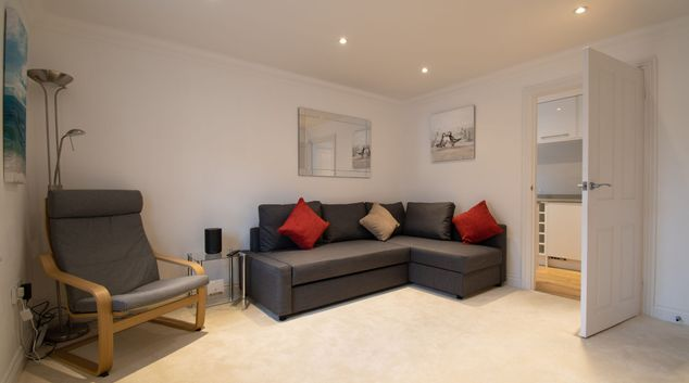Living area at Wakeford Cottage, Centre, Worthing
