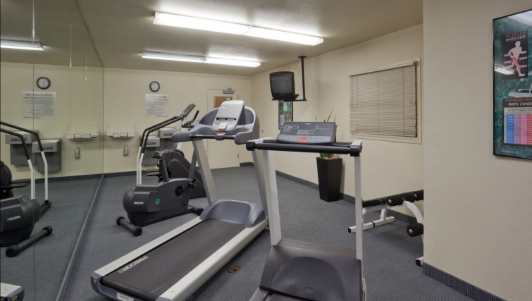 Gym at Candlewood Suites Silicon Valley/San Jose